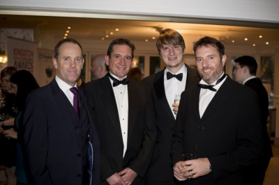 Man and Boy image from MAN and BOY - BEST CHARITY Kingston Business Awards 2017