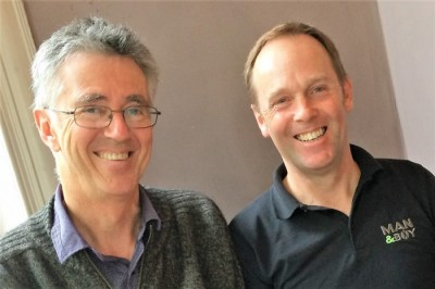 Steve Biddulph stopped off his tour to talk MAN&BOY with our director Trevor.